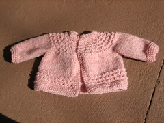 Newborn sweater