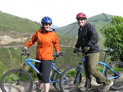 Meg and Dave, Nono to Tandayapa Bike Trip