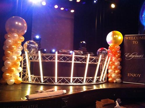 Ballonpilaar Breed Rond Prinsestheater Rotterdam