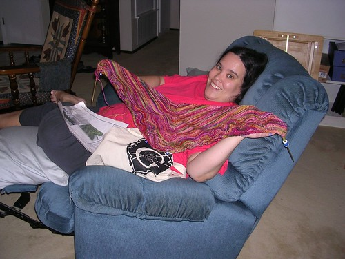 My shawl and the recliner