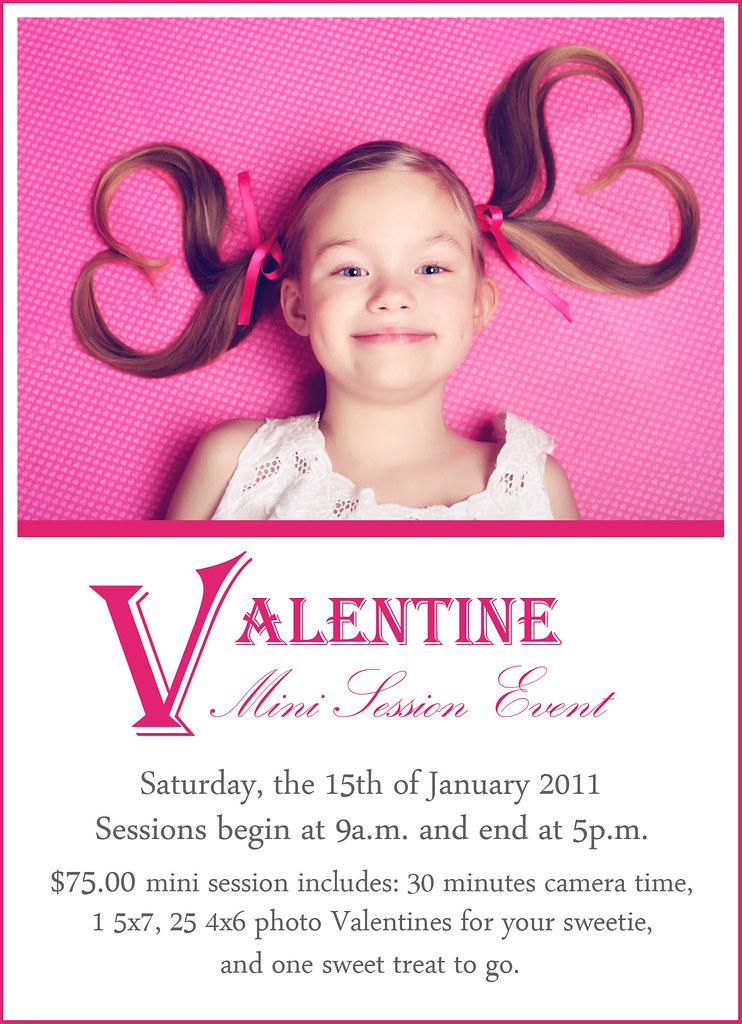 Valentine Mini Session Event