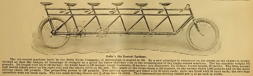 Bicycle Built For Six (1896)