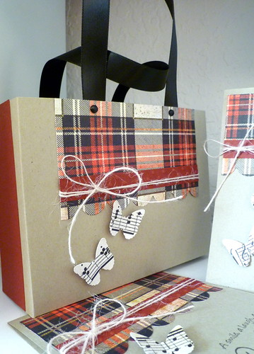 Tote With Four Cards