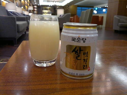 Korean Makgeolli Rice Wine