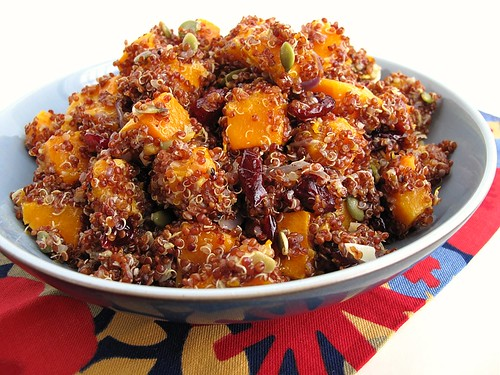 red quinoa