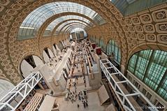 Le Muse d'Orsay / Paris / Parijs (zzapback) Tags: paris france art museum architecture photography rotterdam nikon fotografie angle kunst wide sigma muse enjoy 1224mm parijs dorsay architectuur musedorsay uwa groothoek d700 zzapback robdevoogd robertdevoogd