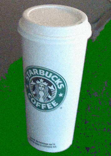 Would you join me for a cup of Starbucks coffee?