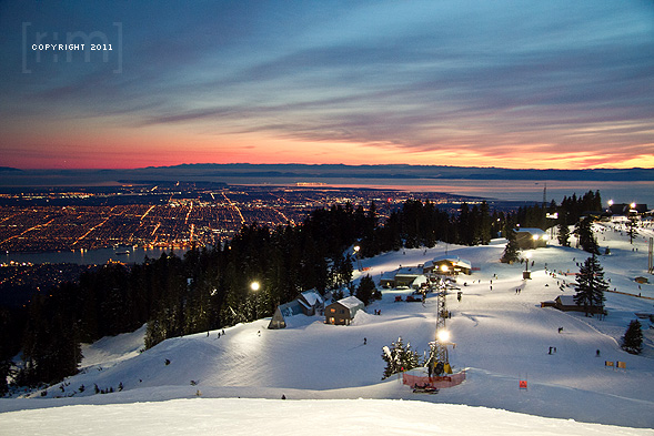Grouse Mountain Sunset Session
