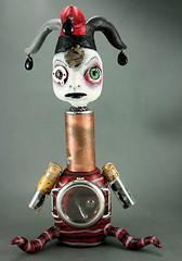 The Candyman aka The Pill Pusher Mixed Media Art Doll (Michele Lynch Art) Tags: sculpture mixedmedia gothic goth creepy artdolls steampunk assemblege michelelynch steampunksouls