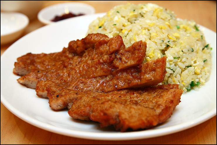 pork-chop-fried-rice