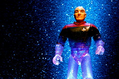 """One to beam up."" (JD Hancock) Tags: startrek favorite black trek fun toy actionfigure star action cc figure scifi captainpicard picard transporter tng theotherside inkitchen jdhancock"