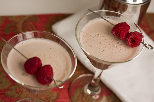 Chocolate Razzmatazz Martini