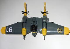 Iron Condor (JonHall18) Tags: plane fighter lego aircraft fantasy scifi bomber moc skyfi dieselpunk dieselpulp