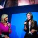 Lara Spencer of Good Morning America and Olivia Wilde