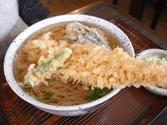 桂「天ぷらそば」(850円)