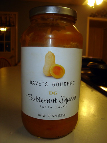 Dave's Gourmet Butternut Squash Pasta Sauce