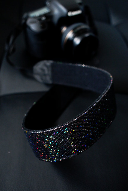 Sparkly Camera Strap for My Canon