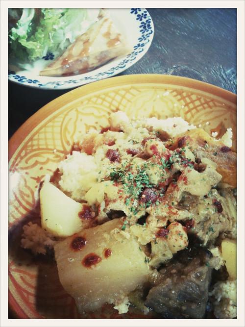 モロッコ料理クスクス