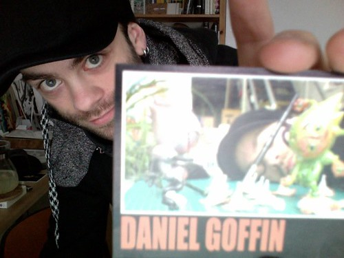 Daniel Goffin turns into a trading card!