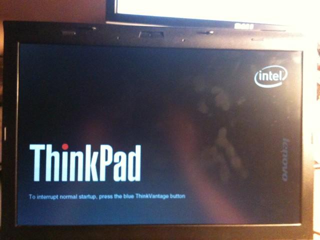 lenovo laptop boot from usb