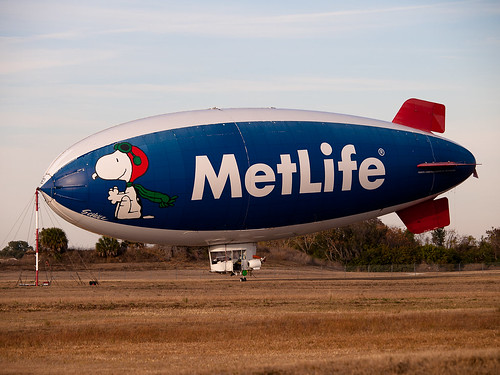 MetLife Blimp Mooring Shot (11/365)
