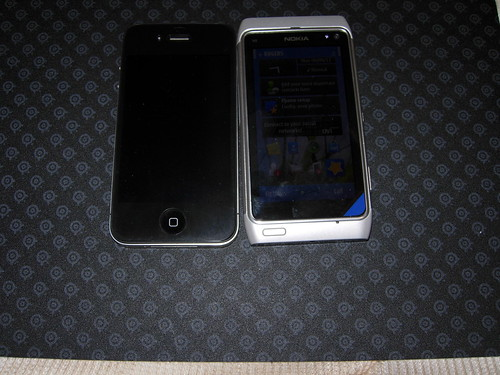 iPhone 4 & Nokia N8