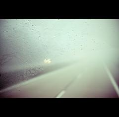 Day Twelve (ODPictures Art Studio LTD - Hungary) Tags: trip travel bus wet rain fog canon 50mm highway drop minimal journey czechrepublic cz eső raindrop rigoletto transporting busz köd autópálya csepp esőcsepp orbandomonkoshu