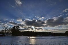 Day Dreaming (Greg Foster Photography) Tags: atlanta winter sky sun snow clouds georgia nikon wideangle tokina f28 sunflare uwa 2011 d90 1116mm atx116prodx