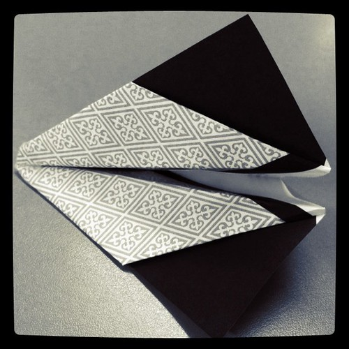 Paper airplane 'Sideslip' 13.01.11
