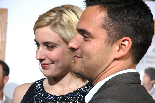Greta Gerwig, Jake Johnson, No Strings Attached Premiere by Real TV Films