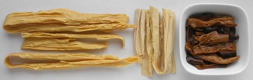 Gedroogde tofu stengels