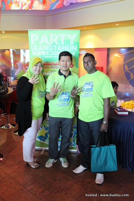 Party Ulangtahun Budiey.com Ke-4 - Pendaftaran Part 2