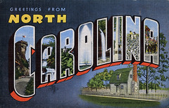 Greetings from North Carolina - Large Letter Postcard (Shook Photos) Tags: linen postcard northcarolina postcards greetings linenpostcard bigletter largeletter largeletterpostcard linenpostcards largeletterpostcards bigletterpostcard bigletterpostcards birthplaceofandrewjackson