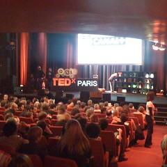 Au TEDx Paris, au suivre aussi sur Canal+