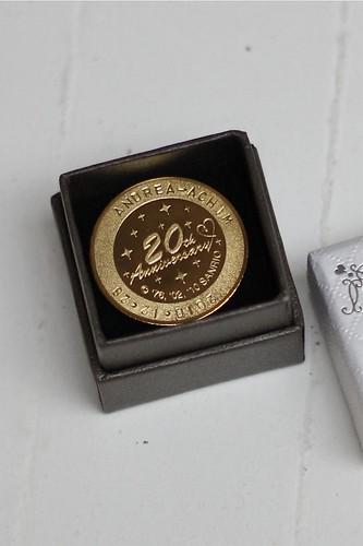 Personalized Sanrio Puroland 20th Anniversary Medal