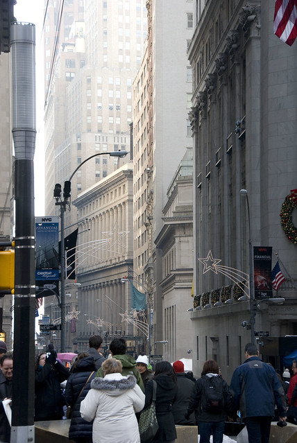d8 looking down wall street