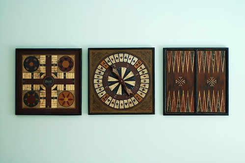 Vintage gameboards