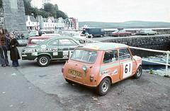 Mini 61 with Vauxhall Firenza ( Gillfoto) Tags: austin rally shell mini 1975 minicooper isleofmull firenza morris mull isle minicoopers austinmini vauxhall vauxhallfirenza isleofmullrally 1975scotlandmull jameswheelerltd