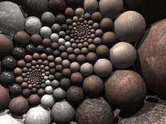 newDoyle (fdecomite) Tags: circle spiral packing sphere math doyle povray