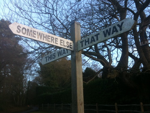 Any which way but loose... by Ian Wilson, on Flickr