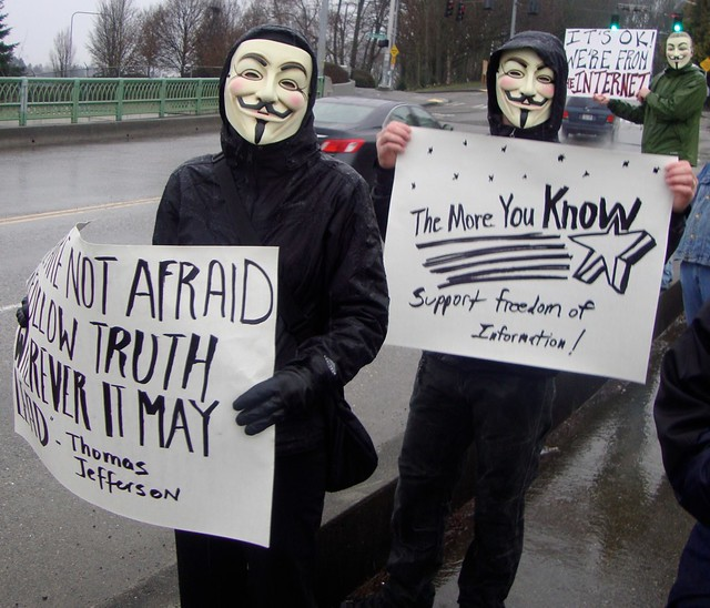 Seatle, Anonymous Rally