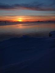 Winter sunset (Basse911) Tags: winter sunset sea snow ice water suomi finland balticsea hanko archipelago hang