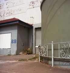 88 (frontdrive34) Tags: stpeters chevrolet 6x6 tlr kodak sydney australia nsw newsouthwales yashica daleys yashicamat124g selfdeveloped portra160nc c41 iso160 tetenal darrendavis frontdrive34