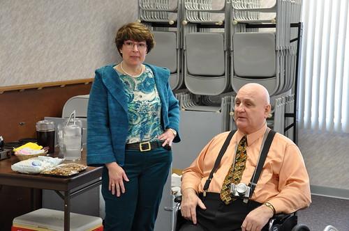 Lisa and Dennis