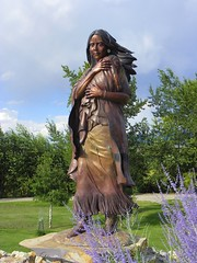 Sacagawea (J. Stephen Conn) Tags: indian id salmon idaho nativeamerican lemhicounty