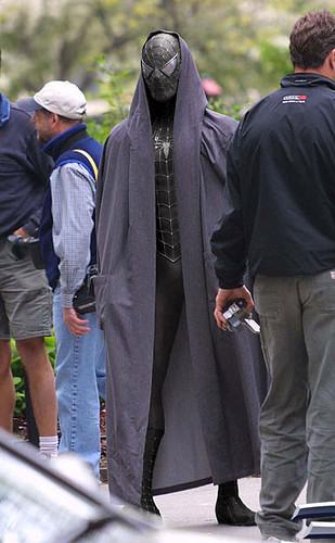 33 fotomontaje del traje negro de spiderman
