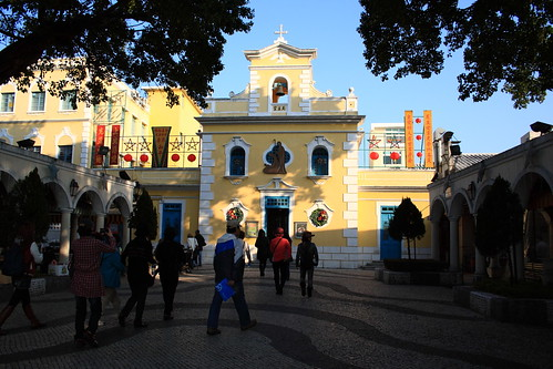 A cathedral in Macau