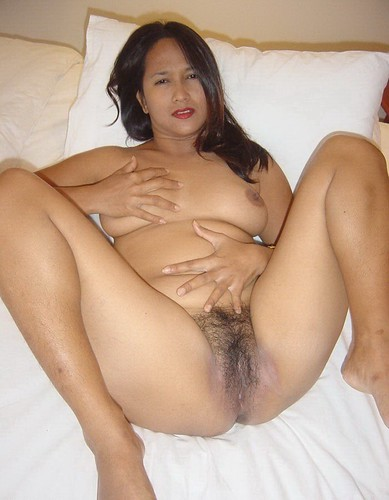 Embarrassed pinay mature wife nude pic