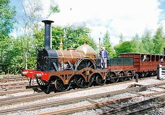 Fire Fly (hugh llewelyn) Tags: fire fly all transport steam british broad railways gauge types 222 locomotives gwr gooch aplaceforgreatphotographers
