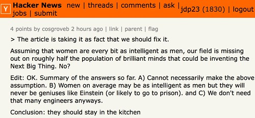 Conclusion: they should stay in the kitchen